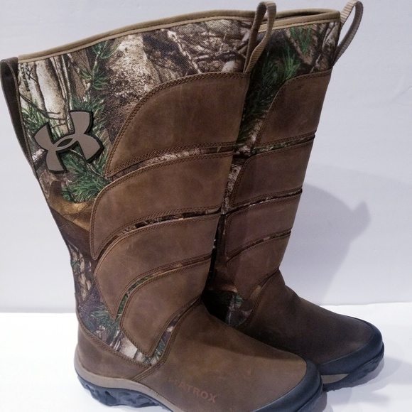 70d14c36582 Under Armour Atrox Real Tree Snake Boots Hunting NWT